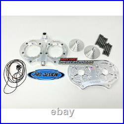 Pro Design Billet Cool Head with 21cc Domes Yamaha Banshee 350 (All Years)