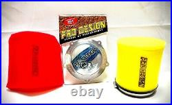 Pro Design Pro Flow Foam Air Filter Intake Kit Yamaha YFZ450 YFZ450R YFZ450X All