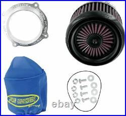 Pro Design Pro Flow Intake K&N KN Air Filter Kit Suzuki LTR450 LTR 450 All Years