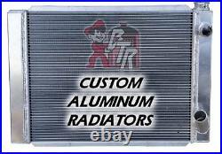Racing Radiator GM ALL ALUMINUM Double pass design