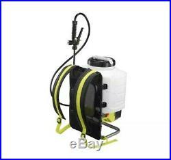 Ryobi 4 Gallon Backpack Chemical Sprayer! Alternative To Victory Electrostatic