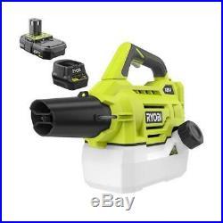 Ryobi One+ 18 Volt Cordless Disinfectant Chemical Fogger/Mister P2850 Battery