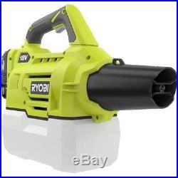 Ryobi One+ 18 Volt Cordless Fogger Mister Disinfectant Sprayer W Charger Battery