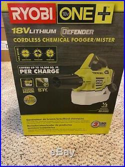 Ryobi One + 18v Cordless Chemical Fogger Mister With Lithium Battery & Charger