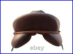 Self Adjusting changeable gullet leather look Synthetic General Purpose Saddle