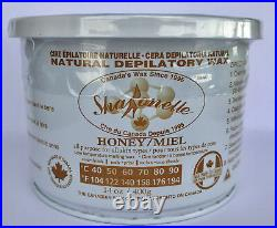 Sharonelle Natural Soft Hair Removal Wax, All Purpose HONEY, 14 oz. 12 pcs