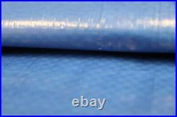 Silver Blue Tarp 30x30 ft Ground Cover 5 Mil All Season Tarpaulin Multi Purpose