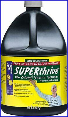 Superthrive Hydroponic Liquid Vitamin Solution 1 Gallon (128 oz)