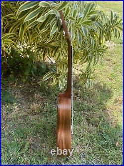 Tenor All Solid Acacia Koa Wood Hawaii Ukulele 3-Abalon Turtles Design, Best Buy
