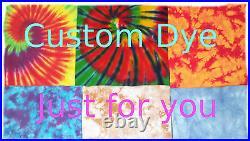 Tie Dye Duvet Cover All sizes Custom Design Available