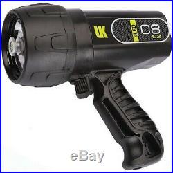 Underwater Kinetics UK-519532 Black C8 eLED All Purpose Rechargeable Flashlight