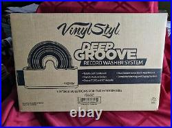 Vinyl Styl Deep Groove RECORD WASHER SYSTEM (White)