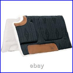 Weaver Durable Herculon All Purpose Built Up Cut Back Saddle Pad 1 Felt Black U
