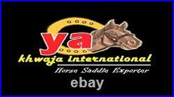 Western Hot seat saddle 16on eco-leather buffalo black color drum dye finished