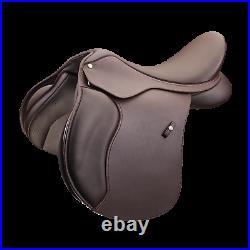 Wintec 500 All Purpose Adjustable GP General Purpose Saddle HART Black/Brown NEW
