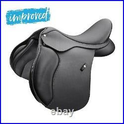 Wintec 500 All Purpose Adjustable GP Saddle HART Black 14 or 15
