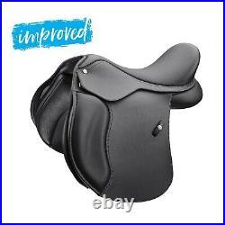 Wintec 500 PONY All Purpose Adjustable General Purpose Saddle HART Blk/Brn NEW