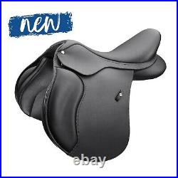 Wintec 500 Square Cantle All Purpose Adjustable GP Saddle HART Black/Brown NEW
