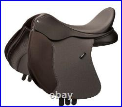 Wintec 500 VSD All Purpose Flock Saddle Changeable Gullet System Brown