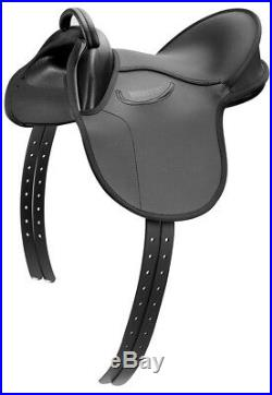 Wintec Kids General All Purpose Pony Saddle Comfort, Security, Stability Black