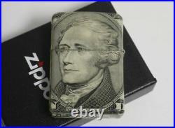 Zippo $10 Dollars Hamilton All Side Design 04373