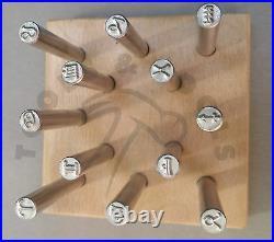 Zodiac/ Star Sign Symbols Precision Design Metal Punch Stamps 5 mm Single/ Set